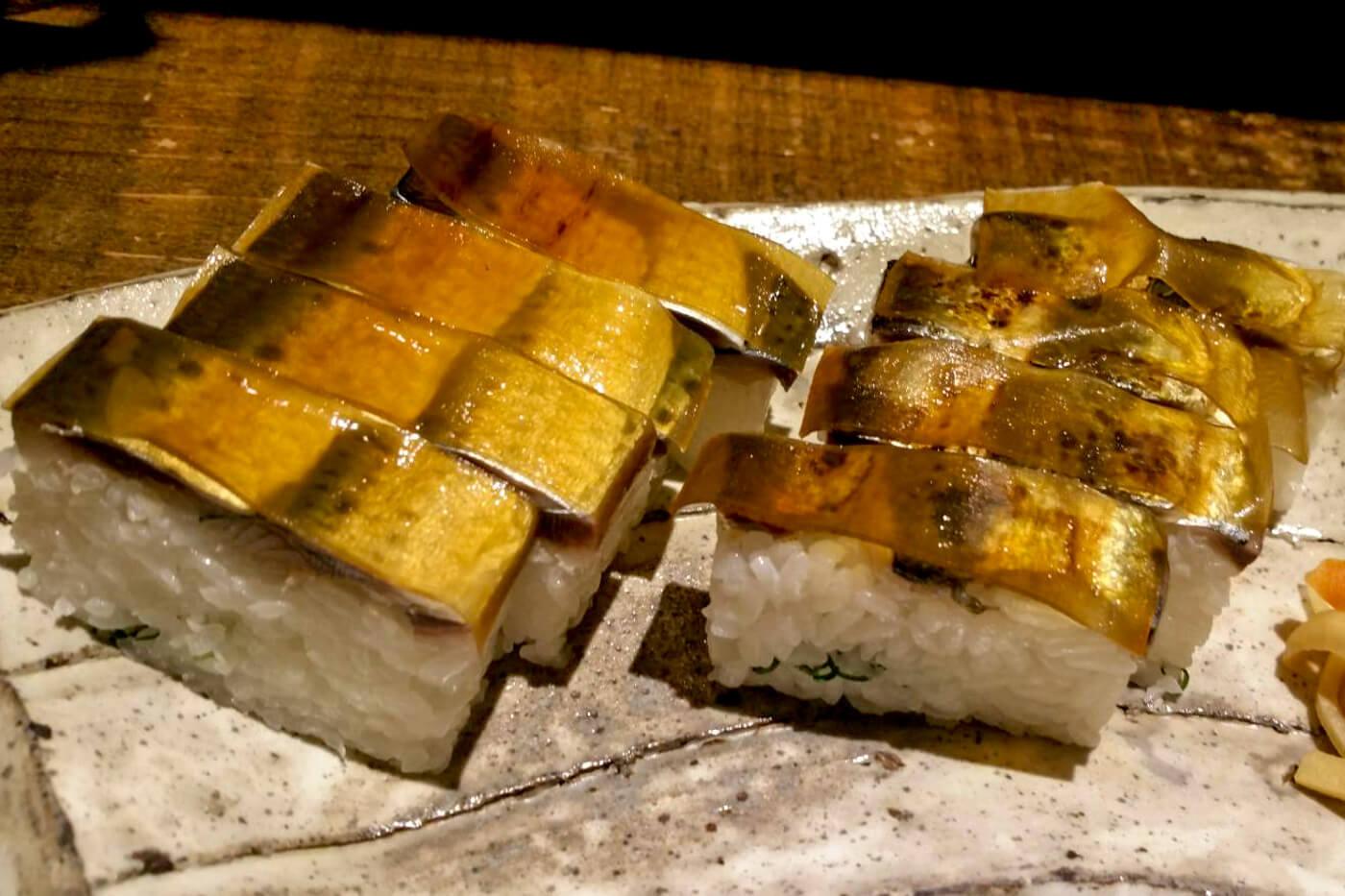 磯ぎよし(いさぎよし)の鯖寿司