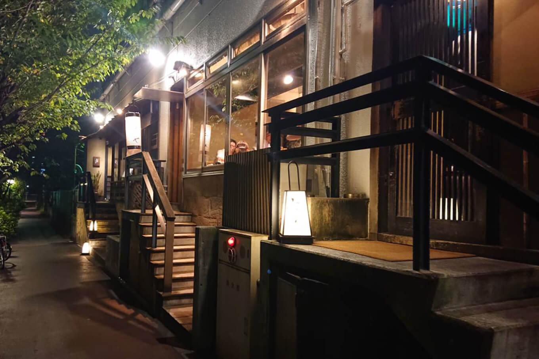 焼鶏あきら(やきとりあきら)-東京中目黒本店の外観